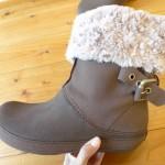 冷えとり生活で履くサイズの大きい靴