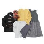 【福袋】ナチュラン リンネル2月号掲載のあったか着まわし福袋 中身が見える福袋です