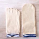 子供用冷え取り2足組靴下 モニターしました